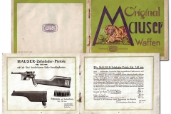 Advert for pistol Mauser C-96