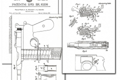 Yugo patent for Mauser-Nickl pistol